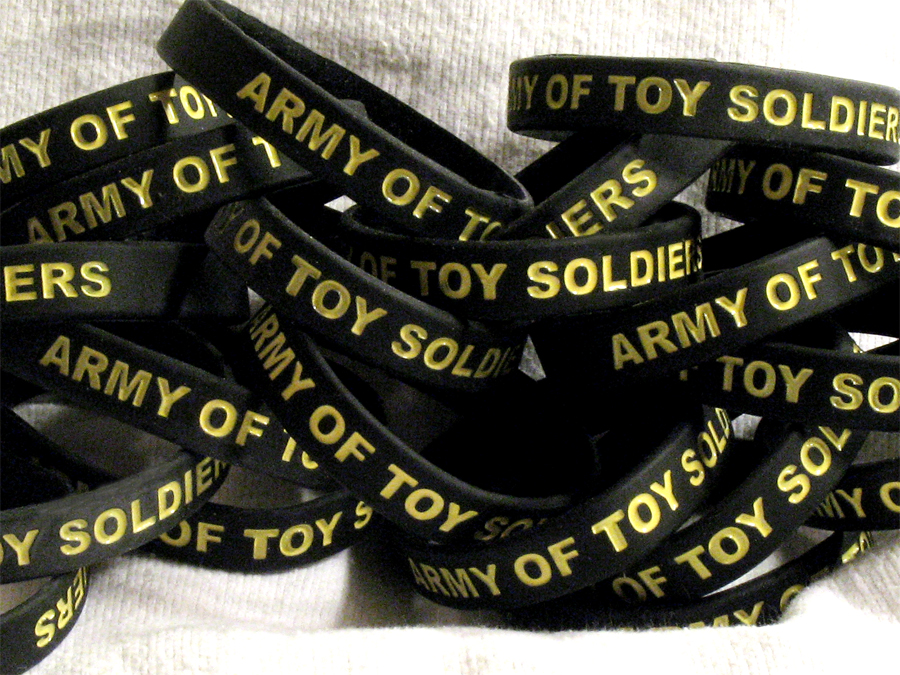 Army of Toy Soldiers Wristband