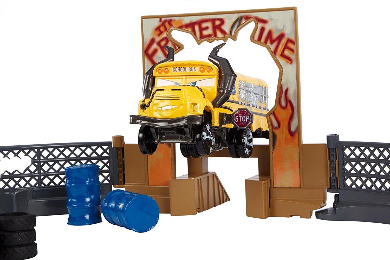 Choques Go Crash Toys The Smashamp; 3 Cars Pista Locos On Derby vmn0wyPNO8