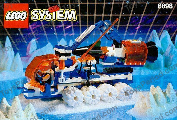 LEGO 6898 Ice Sat V Set Parts Inventory and Instructions   LEGO     LEGO 6898 Ice Sat V