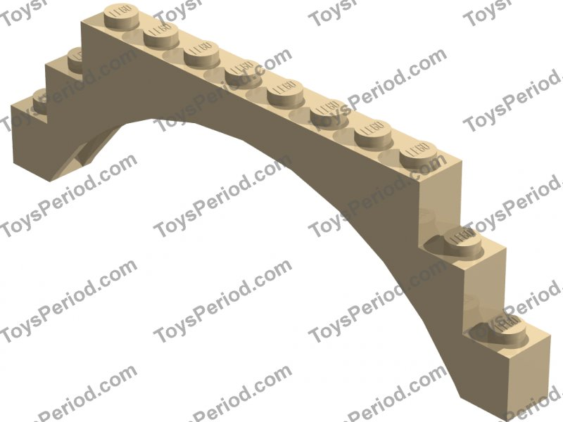 LEGO Sets with Part 6108 Arch Brick 1 x 12 x 3 Picture of LEGO Part 6108 Arch Brick 1 x 12 x 3