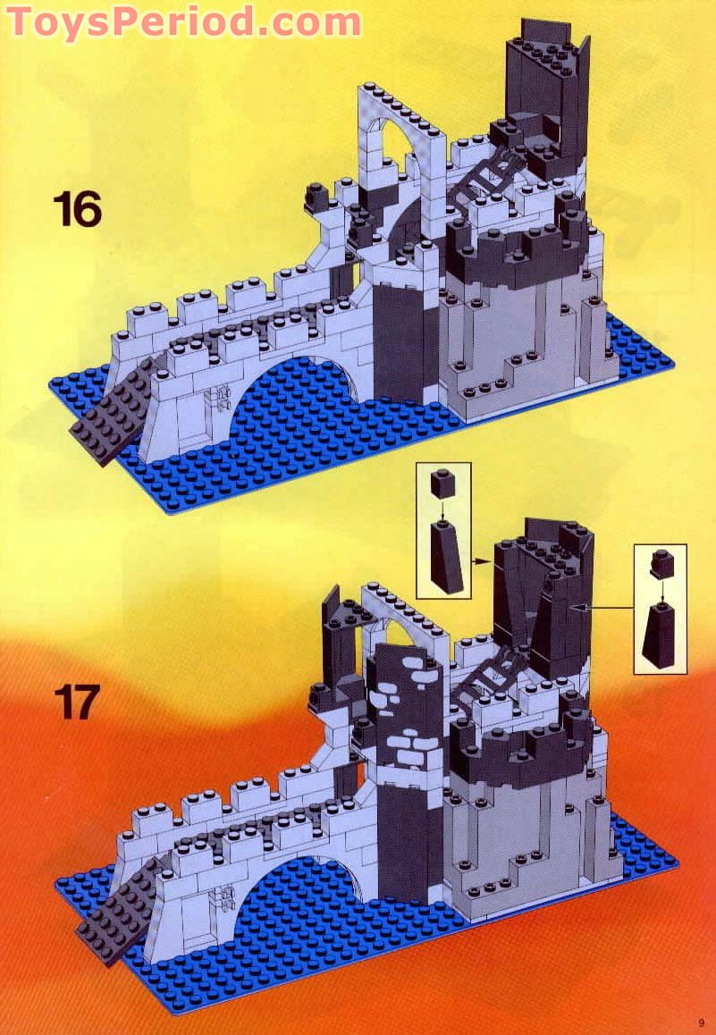 Lego 6075 1 Wolfpack Tower Set Parts Inventory And