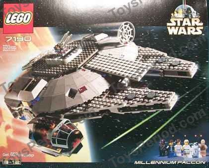 Lego 7190 Millennium Falcon Set Parts Inventory And