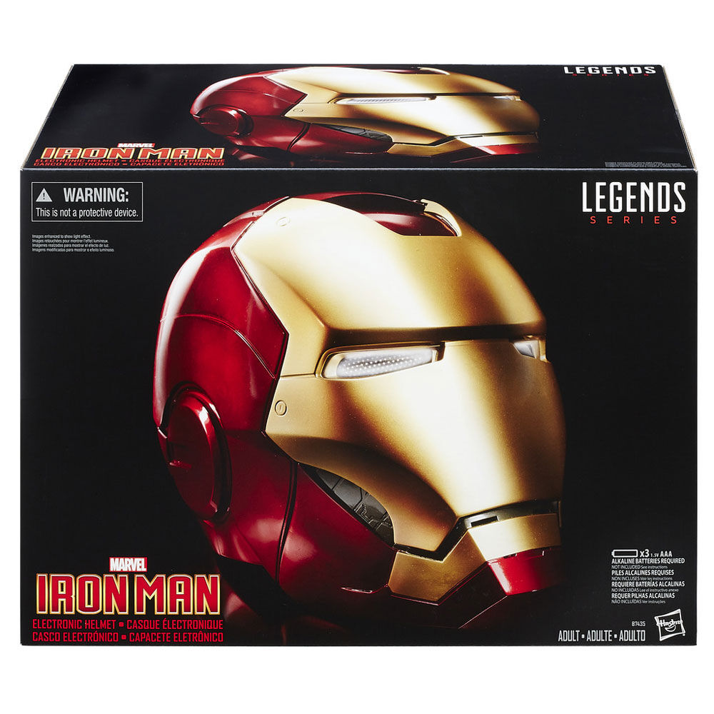 Marvel Legends Gear Iron Man Electronic Helmet Toys R Us Canada