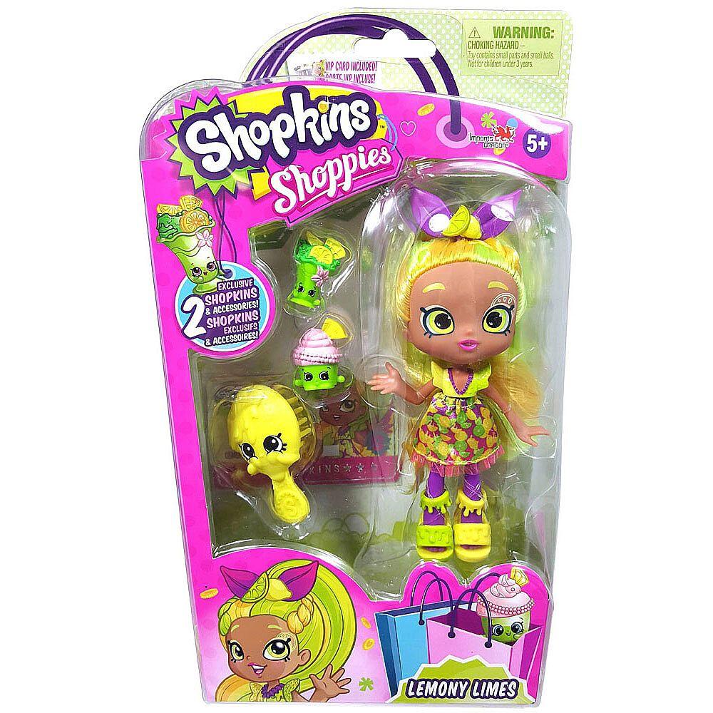 Shopkins Shoppies Doll Single Pack Series 4 Lemony Limes Toys R Us Canada