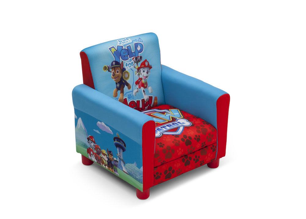 fauteuil tapisse la pat patrouille de nick jr par delta children