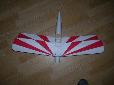 Planta do Aeromodelo Tigermoth