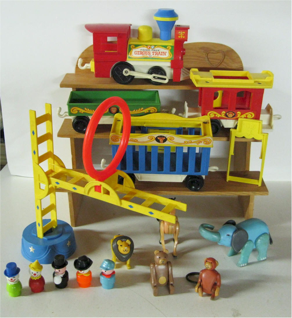 Fisher Price Circus Train