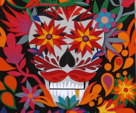 Mexcian skull
