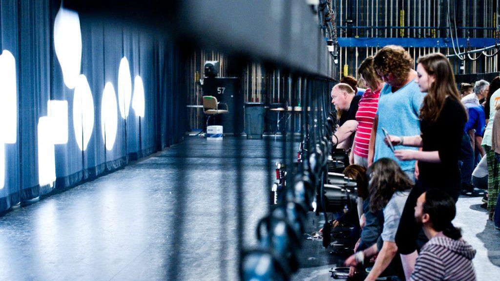 Stage lighting workshop