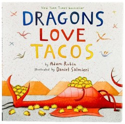 Dragons Love Tacos - Book Cover