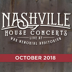 Nashville House Concerts October 2018