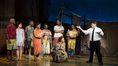 The company of The Book of Mormon Tour