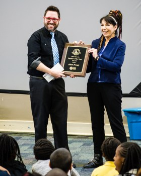 Adam Prouty, 2019 Teacher of the Year winner