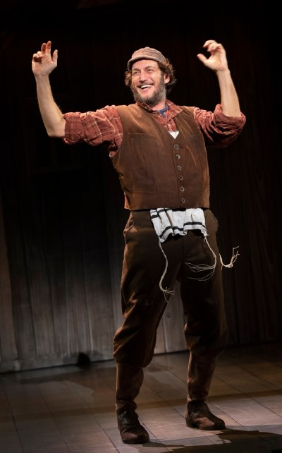 Yehezkel Lazarov as 'Tevye' in the National Tour of 'Fiddler on the Roof.'