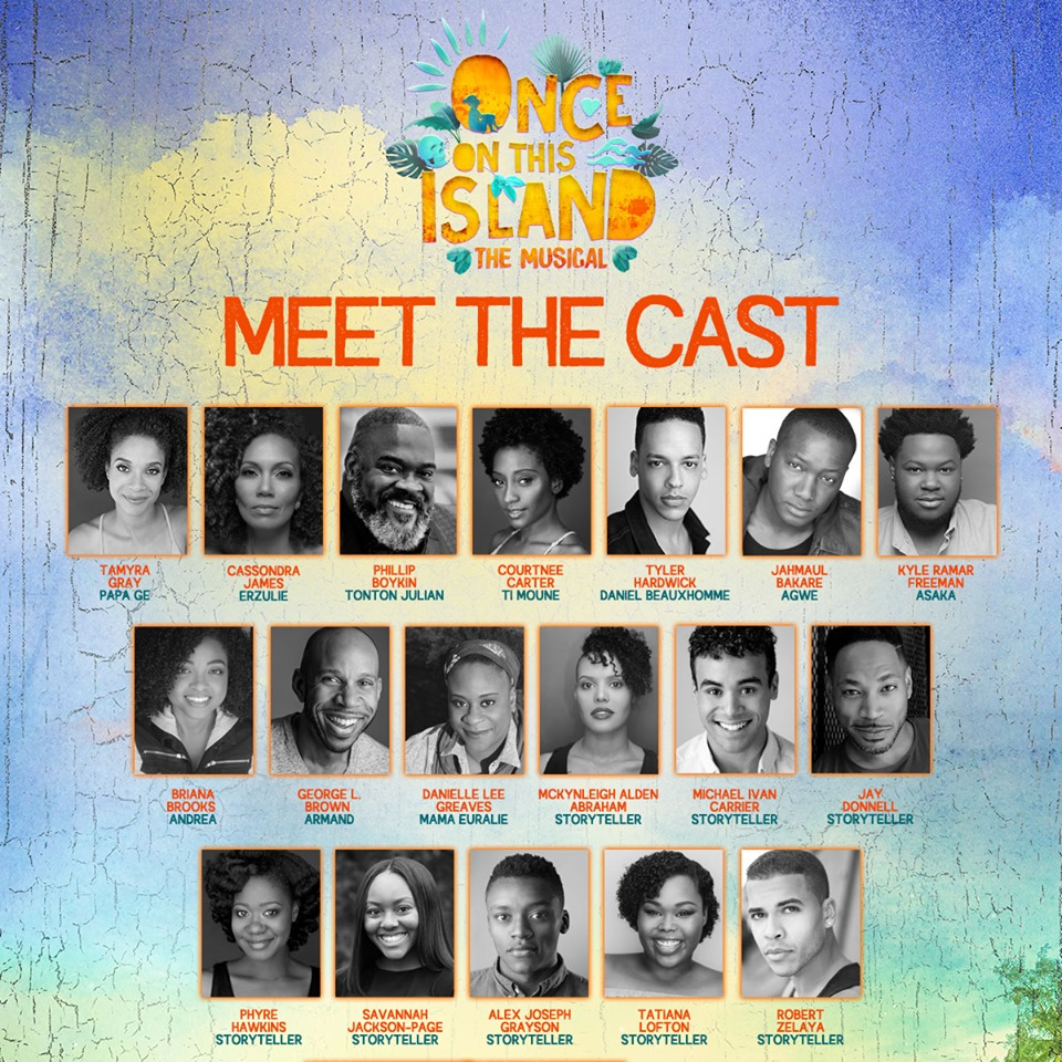 National Tour cast of Once on This Island