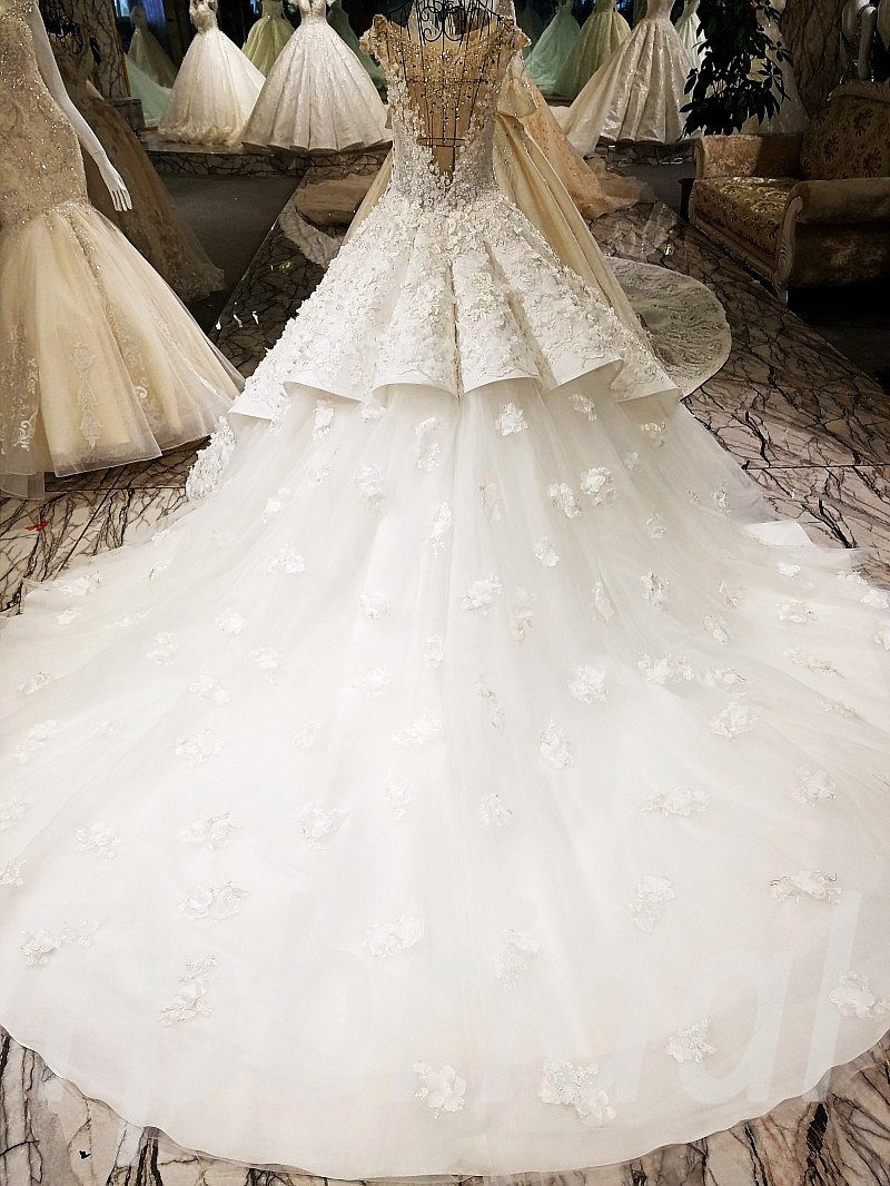 Wedding Dress Diamond Ball Gown Gorgeous Bridal Dress