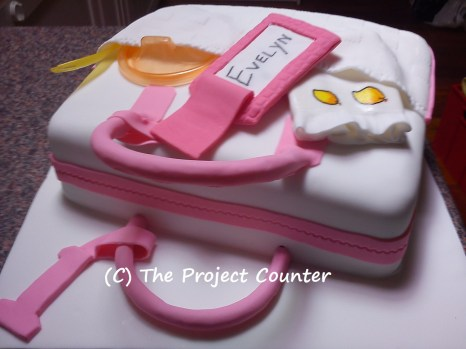 Nappy Bag Cake: Custom Order Ask For a Quote Now