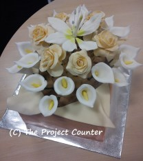 Bouquet Cake: Custom Order Ask For a Quote Now
