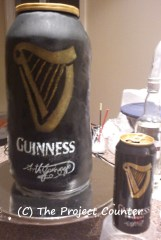 Guinness Can Cake: Custom Order Ask For a Quote Now
