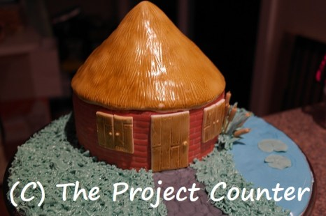 Hut Cake: Custom Order Ask For a Quote Now