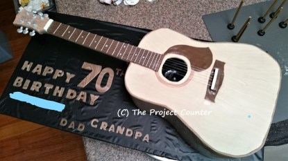 Guitar Cake: Custom Order Ask For a Quote Now