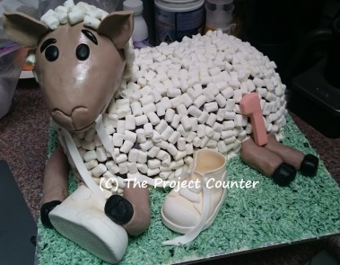 Sheep Cake: Custom Order Ask For a Quote Now