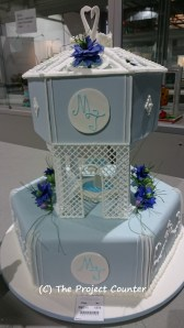 Wedgewood Fountain Wedding Cake: Custom Order Ask For a Quote Now
