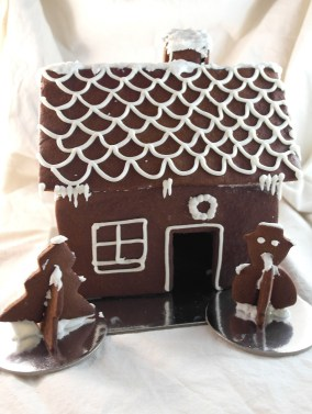 Organic Ingredients Gingerbread House Kit: Visit our Etsy Store for the latest seasonal products!