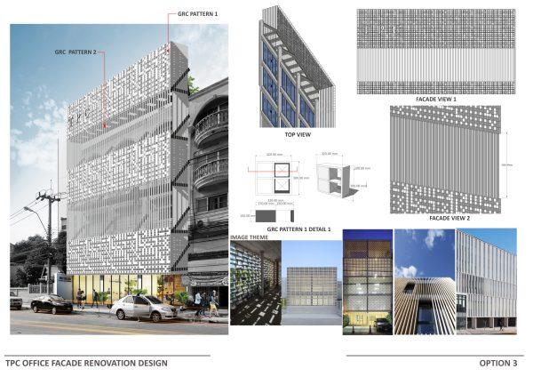 Office Renovation Facade Design