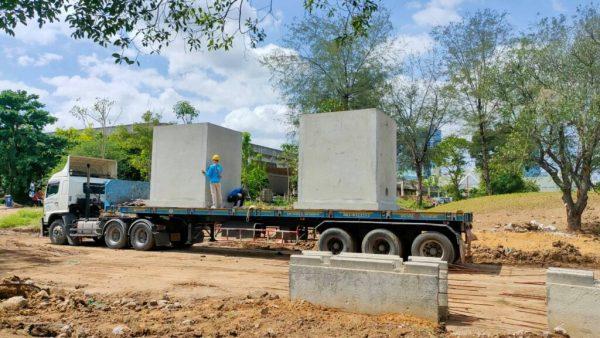 Prefabricated Concrete Underground Tanks