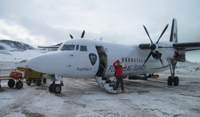 On the ground at Kulusuk, Greenland