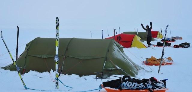 Day #6 campsite