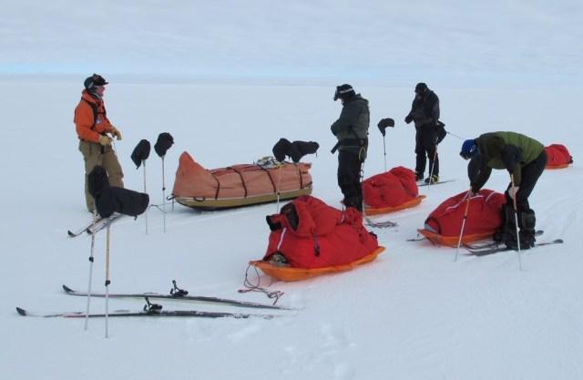 Near South Pole