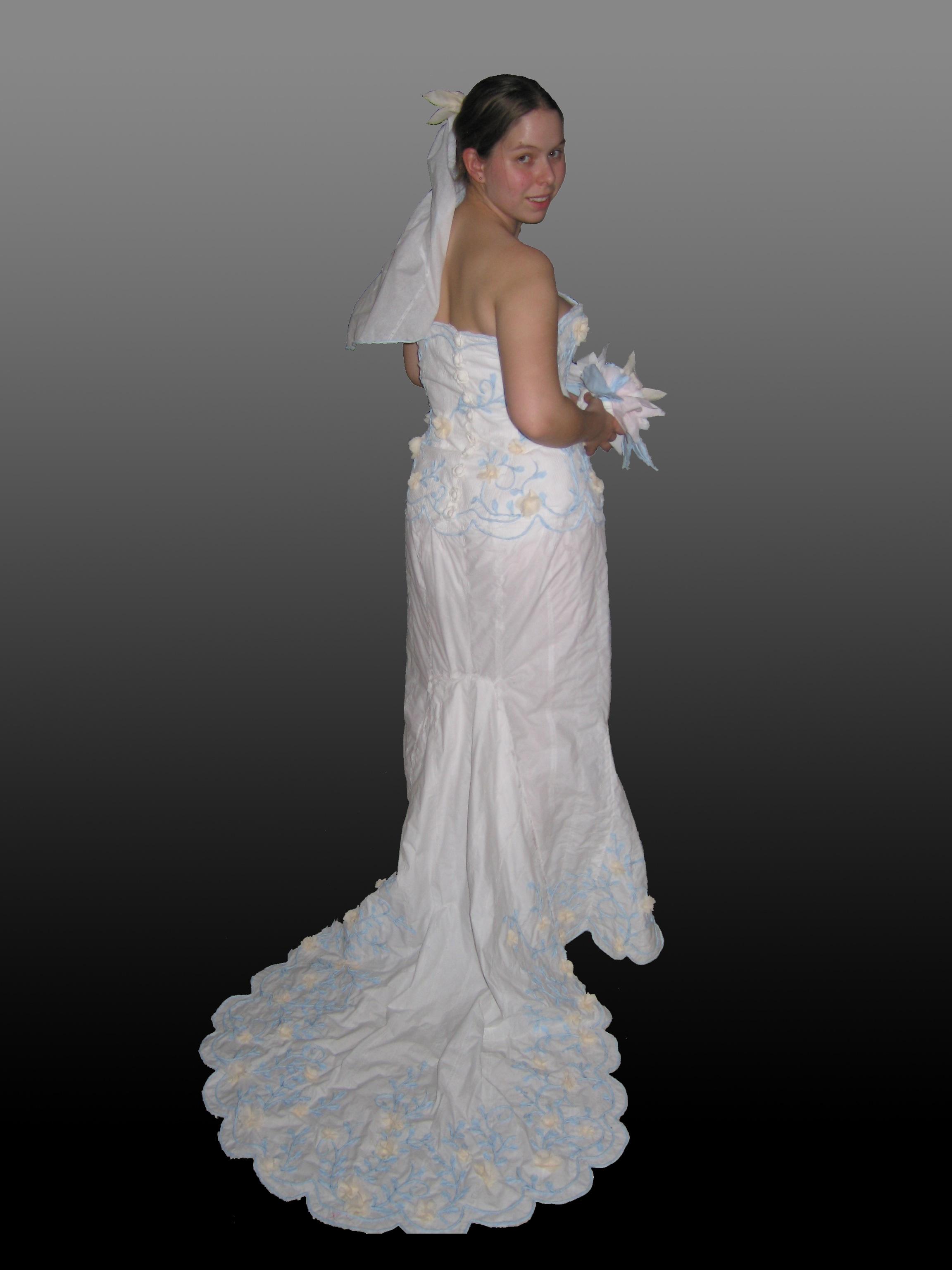 The 2005 Toilet Paper Wedding Dress Contest
