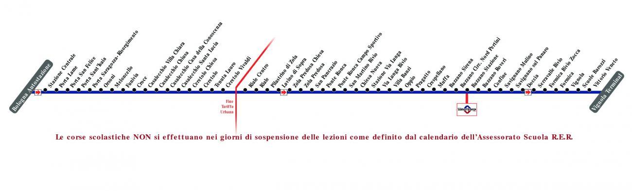 Linea 671 Bologna Bazzano Stazione Fbv Vignola
