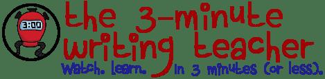 The 3-Minute Writing Teacher