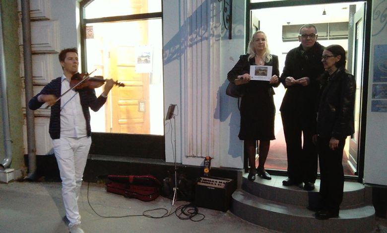 """Photo of U Velikom Gradištu otvorena izložba """"Vizija duše izraelskih umetnika"""" uz zvuke violine (FOTO/VIDEO)"""