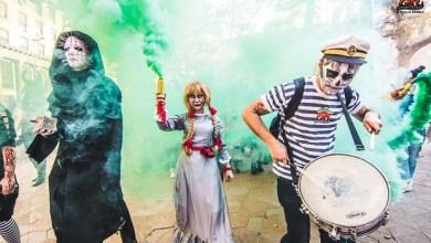 Photo of FESTIVAL FANTASTIKE: Zombiji prošetali ulicama Beograda (FOTO)