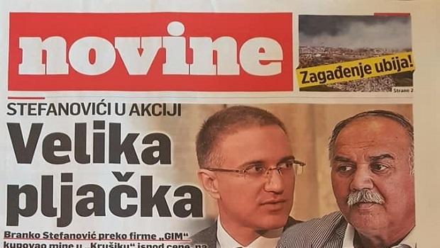 """Photo of BESPLATNO OPOZICIONO GLASILO: """"Novine"""" koje su narodu otvorile oči (FOTO)"""