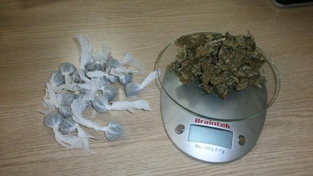 Photo of POLICIJSKA AKCIJA U OKOLINI POŽAREVCA: Paketiće marihuane sakrio u zidu štale