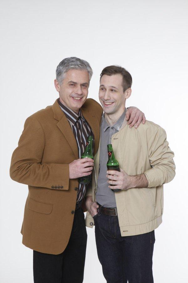 Zlatko Ožbolt i Jakov Gavran u 'Pivu'