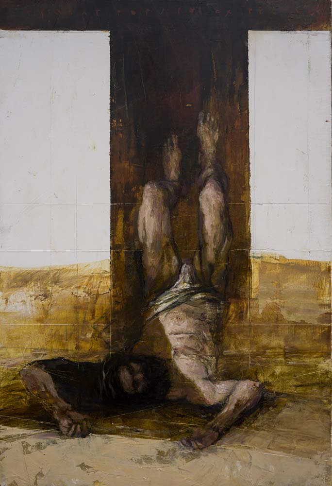 Andrzej Boj Wojtowicz - Station X Nailed to the Cross