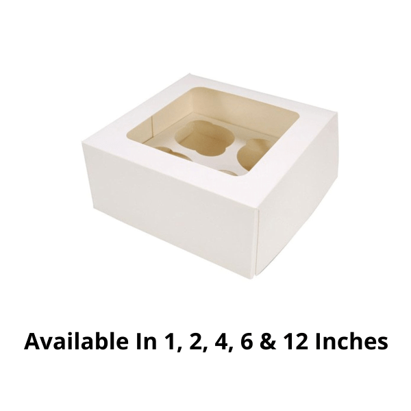 Customized Cup Cake Boxes - 500 Pieces