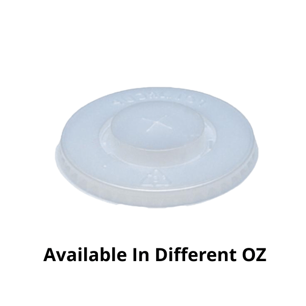 Cup Lids - 100 Pieces
