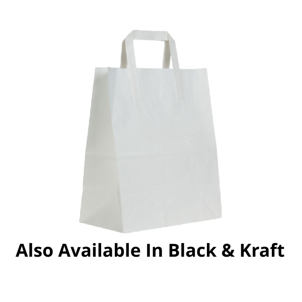 Customized Paper Handle Paper Bags - 1000 Pieces