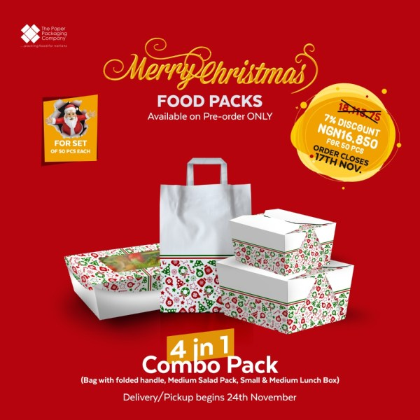 Christmas 4 in 1 Combo Pack (50 Pieces)