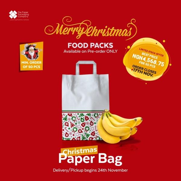 Christmas Paper Bag (50 Pieces)
