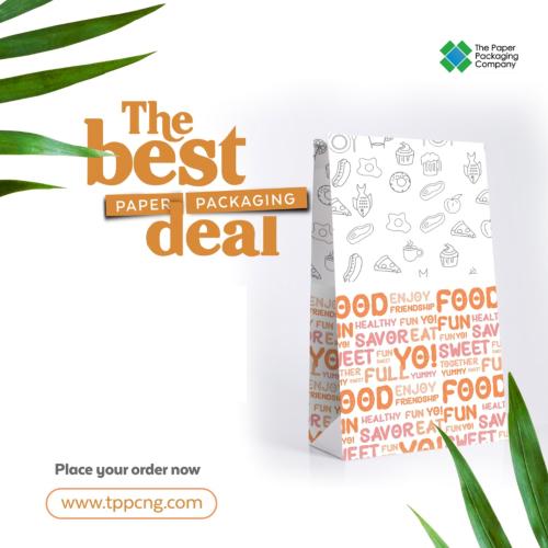 Generic Medium Paper Bag - 100 Pieces