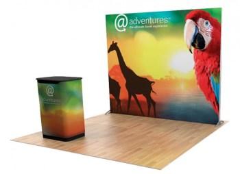 backlit trade show displays