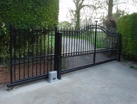 Design Sliding Gate Electric Wood Gates Tps Electric Gates